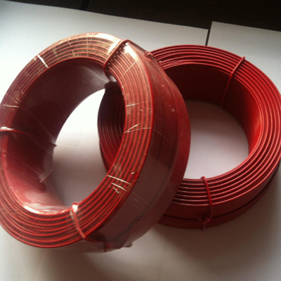 PVC covered plastic wire